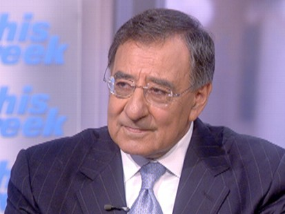 "VIDEO: CIA Director Leon Panetta sits down with ABCs Jake Tapper on ""This Week."""