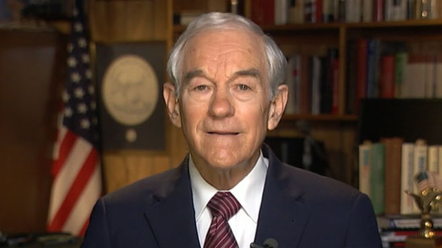 VIDEO: Ron Paul disputes conspiracy-theory charge, blame for racist newsletters.