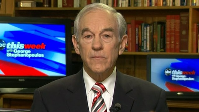 VIDEO: Despite third place Nevada finish, Ron Paul vows a long campaign battle.