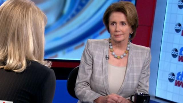 VIDEO: This Week: Nancy Pelosi Interview