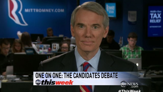 VIDEO: The Ohio senator on the presidential debates and the 2012 election.