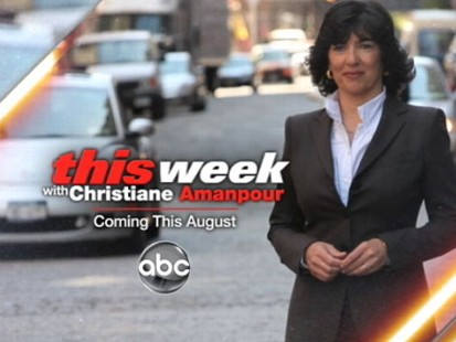 VIDEO: This Week With Christiane Amanpour coming this August.