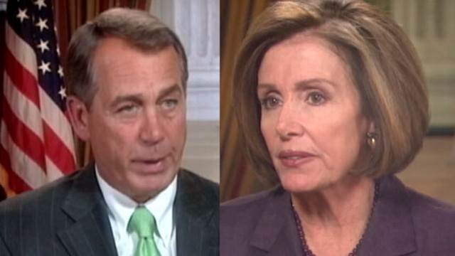 VIDEO: House Speaker Boehner and Democratic Leader Pelosi on This Week.