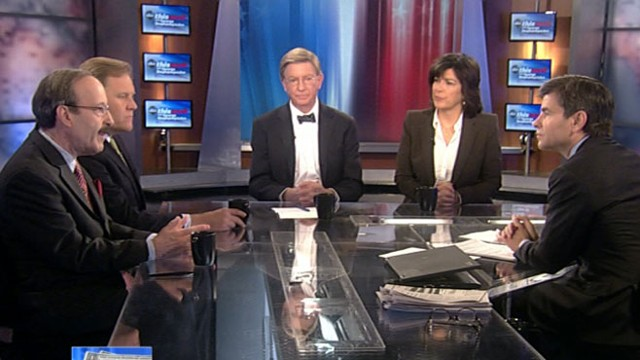VIDEO: Rep. Mike Rogers, Rep. Eliot Engel, George Will, and Christiane Amanpour.