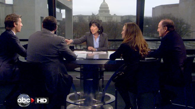VIDEO: David Muir, Leo Gerard, Christia Freeland and Mort Zuckerman.