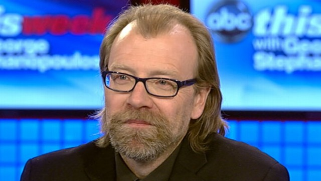 """VIDEO: Author George Saunders discusses his short story collection, """"Tenth of December."""""""