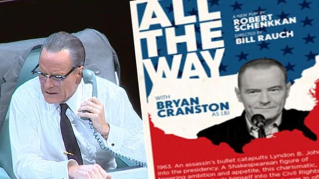 VIDEO: Sunday Spotlight: Bryan Cranston as LBJ