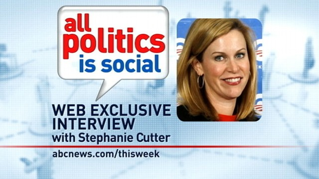 VIDEO: Obama 2012 Deputy Campaign Manager Stephanie Cutter answers viewer questions.