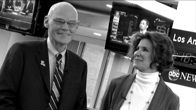 VIDEO: The political odd couple answer viewer questions on their marriage.