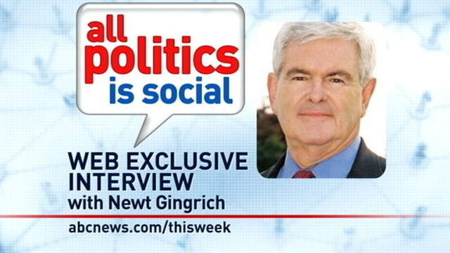 VIDEO: Former Speaker of the House Newt Gingrich answers viewer questions.