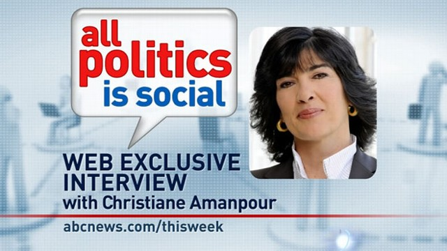 VIDEO: ABC News Global Affairs Anchor Christiane Amanpour answers viewer questions.