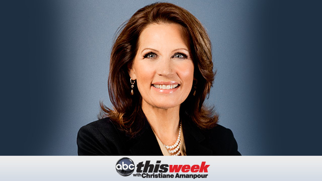 """PHOTO:Rep. Michele Bachmann, R-Minn., will appear on """"This Week,"""" Oct. 30, 2011."""