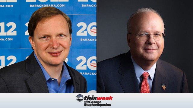 Jim Messina and Karl Rove on This Week