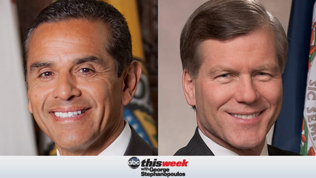 Antonio Villaraigosa and Gov Bob McDonnell on This Week