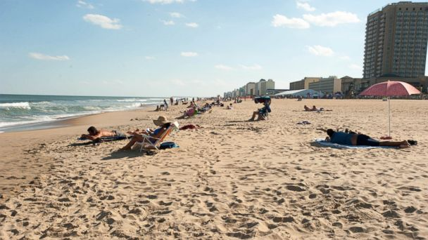 PHOTO: Virginia Beach finds itself as one of the most visited summer beach destinations, especially during holiday weekends like Memorial Day and Labor Day.