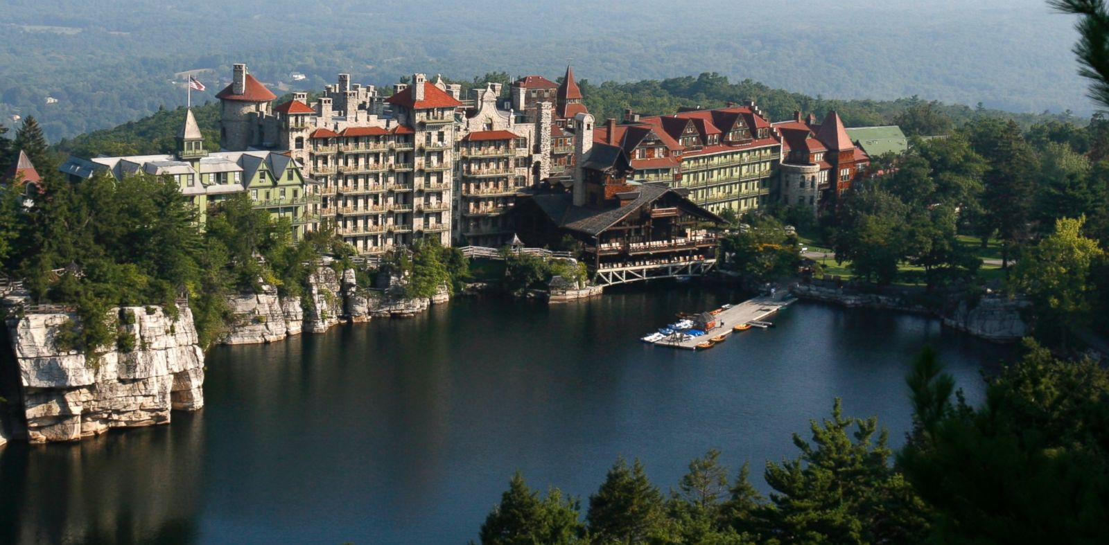 PHOTO: A view of the Mohonk Mountain House in New Paltz, N.Y., in this Aug. 28, 2007 file photo.