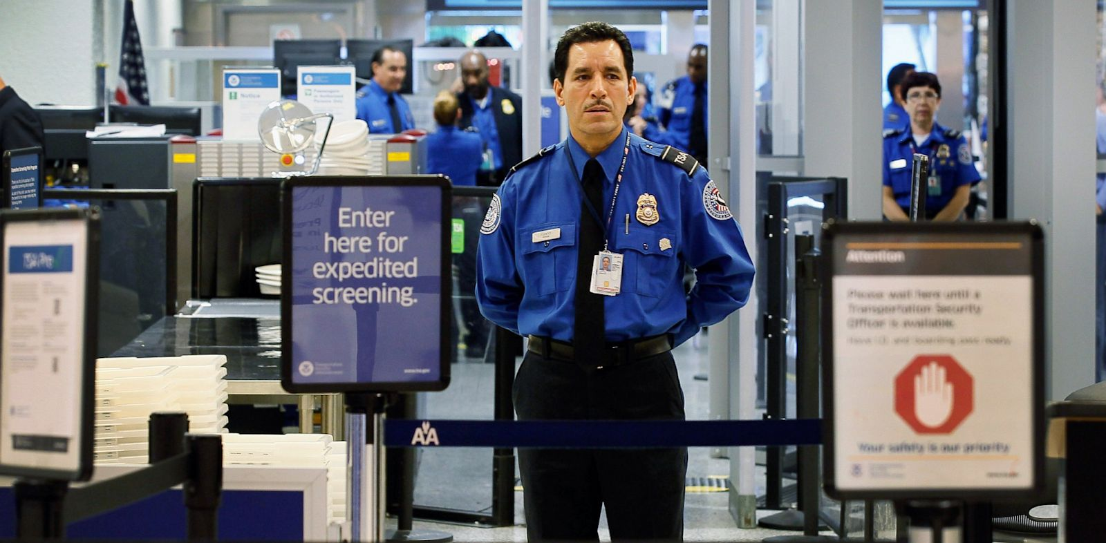 PHOTO: TSA, PreCHeck, security, airport, travel