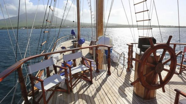 PHOTO: Island Windjammers tall ship Diamant