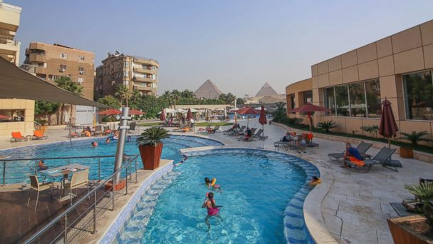 PHOTO: Giza is Egypts third largest city, located on the west bank of the Nile.