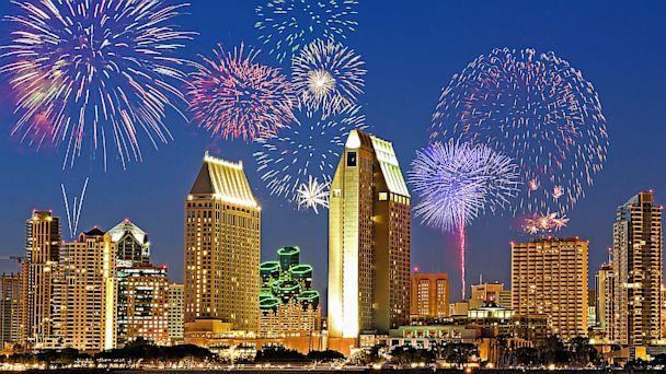 Manchester Grand Hyatt, San Diego, hotel, fireworks