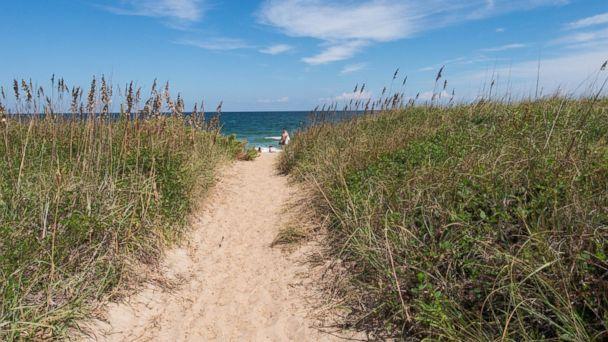 PHOTO: The beach at Days Inn Kill Devil Hills Oceanfront - Wilbur in Outer Banks, North Carolina.
