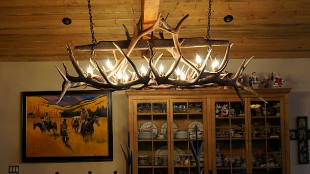 PHOTO: Chandeliers by Peak Antler Company