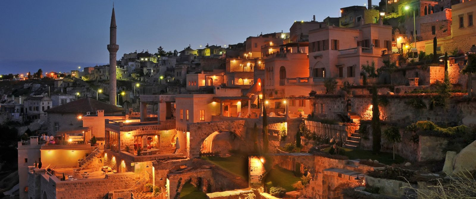 PHOTO: Argos in Cappodocia, a Turkish hotel, was built out of a former monastery.