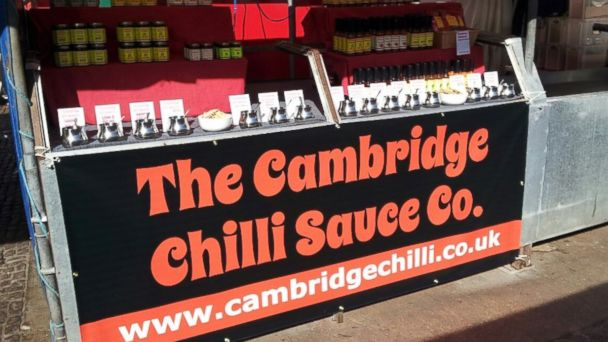 PHOTO: Cambridge Chilli Sauce Co.