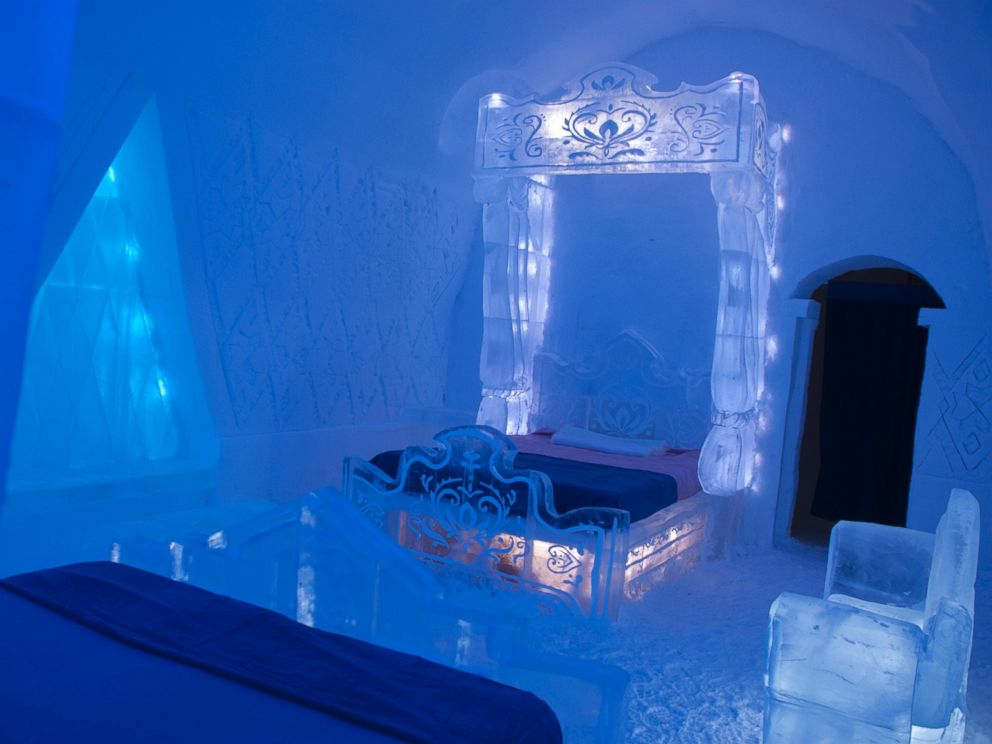 39 frozen 39 themed hotel suite is hot with fans abc news for Special hotels in the world