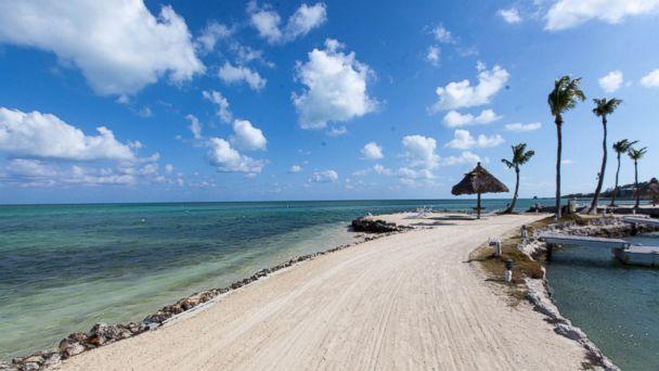 PHOTO: A beach at Chesapeake Beach Resort is seen here in the Florida Keys.