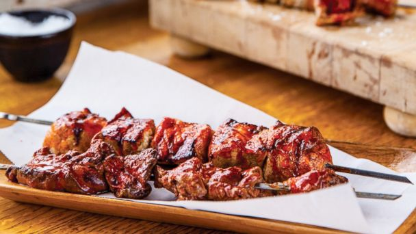Pincho Moruno Traditional Charcoal Kebabs from Spain