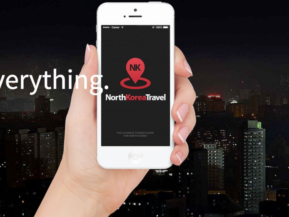 PHOTO: A North Korean travel app created by Uniquely.Travel.