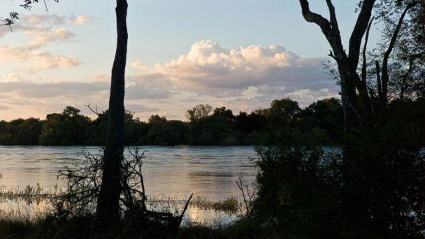 River-rafting the Zambezi River, Zimbabwe