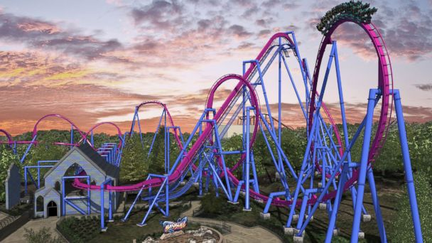 PHOTO: A rendering of Banshee, scheduled to open in 2014 at Kings Island in Mason, Ohio.