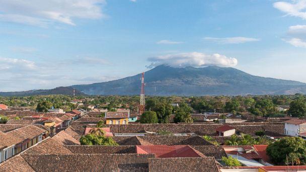 Volcano Boarding, Nicaragua