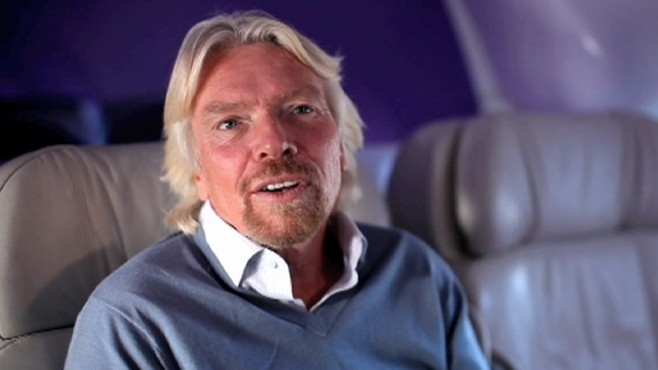 VIDEO: Richard Branson says his Virgin Galactic adventure is between 12 and 18 months away.