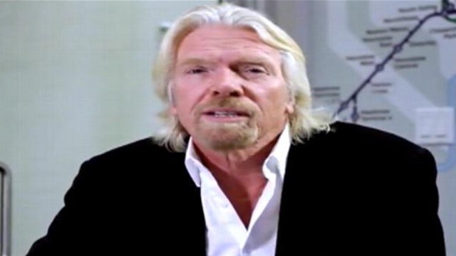 VIDEO: Sir Richard Branson explains Virgin Americas new seat-to-seat delivery feature.