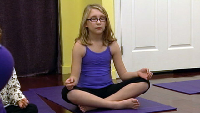 PHOTO: Kids yoga programs are gaining popularity all over the country.