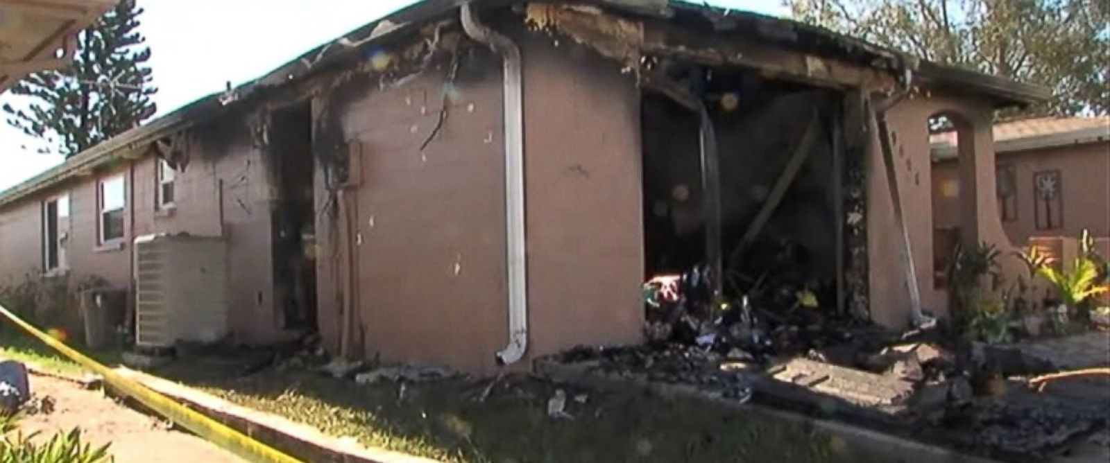 PHOTO: Deputies say a 14-year-old girl set fire to her home using a combination of bleach and rum after an argument with her family.