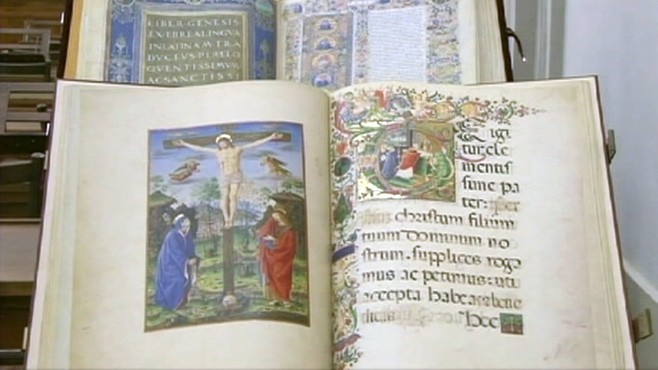 VIDEO: Founded in the 1450s, the Vatican library holds the oldest known complete Bible.