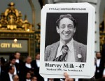 PHOTO: Memorial event for Harvey Milk and George Moscone