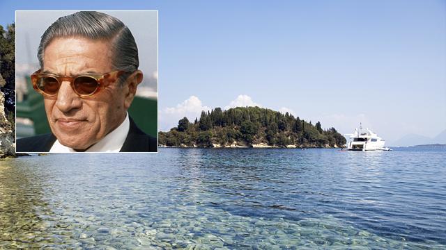 PHOTO: Island of Skorpios.