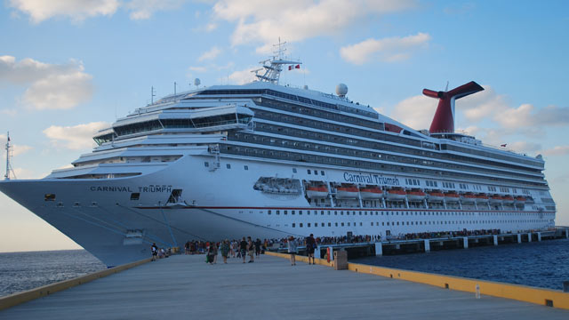 PHOTO: Carnival Triumph. Carnival Cruise Line has cancelled 10 cruises.