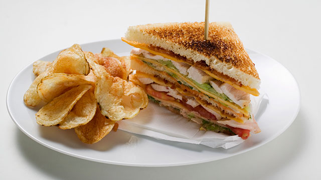 PHOTO: Hotel.com lists the ten most expensive club sandwiches.