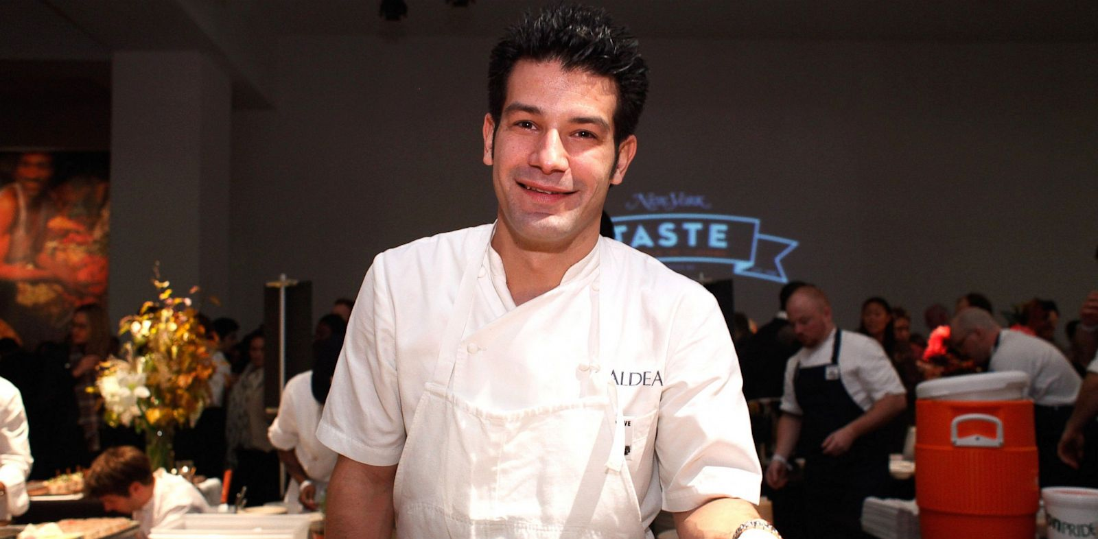 PHOTO: George Mendes attends New York Taste A World of Flavors