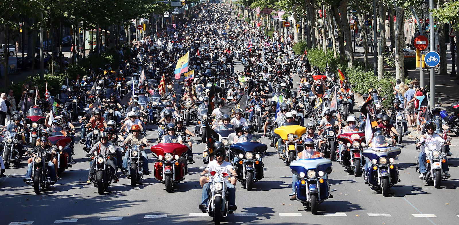 PHOTO: The Harley Davidson 110th Anniversary will take place on Labor Day, 2013.