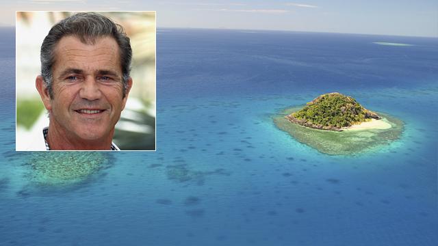 PHOTO: View of Fiji islands.