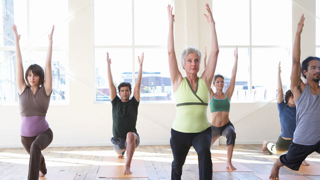 PHOTO: GoRecesss is a new site that helps travelers find fitness classes, such as yoga, on the road.