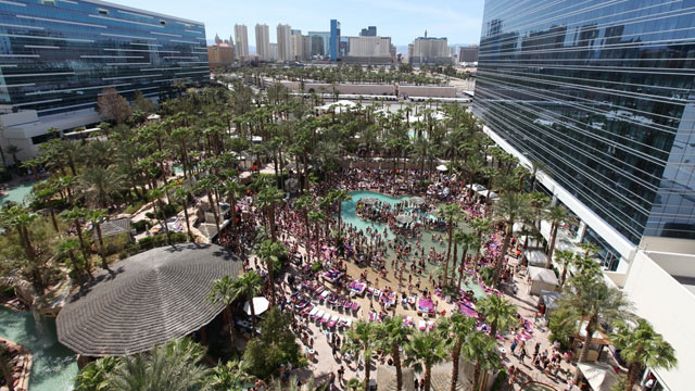 PHOTO: The Hard Rock Rehab pool is seen here.