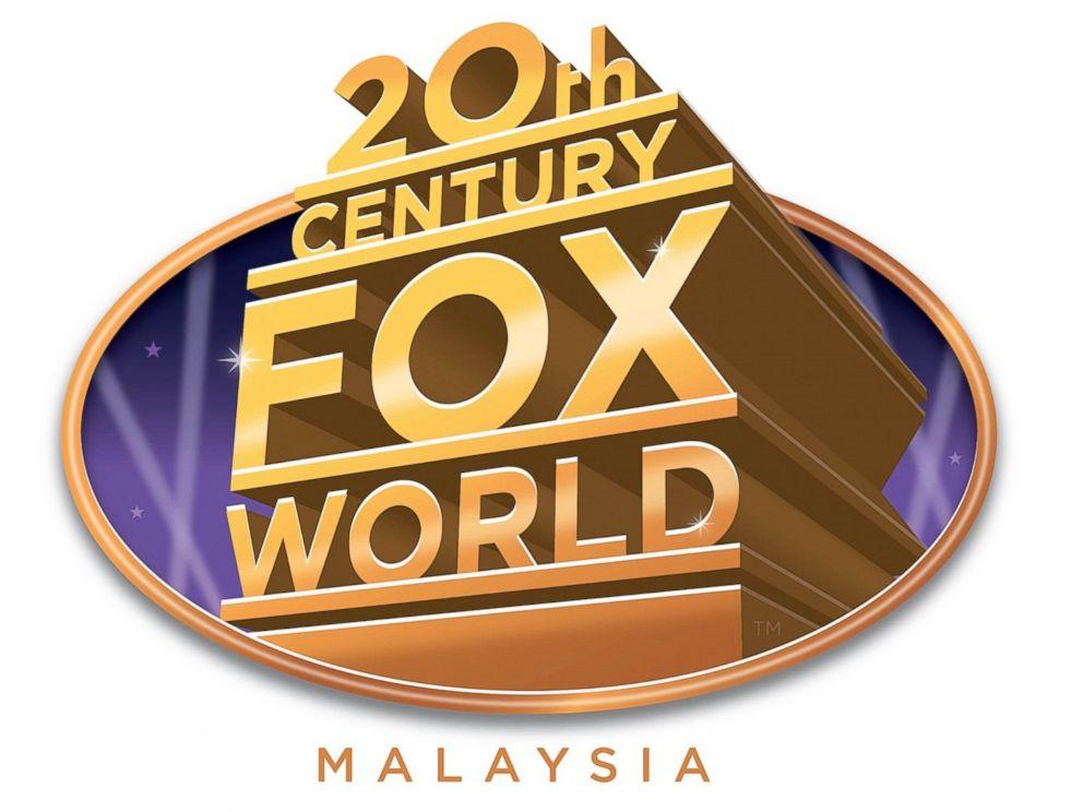 PHOTO: The logo for Twentieth Century Fox World at Resorts World Genting.